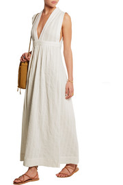 Dominica cotton-voile maxi dress