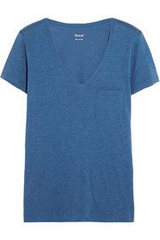 Slub cotton-jersey T-shirt