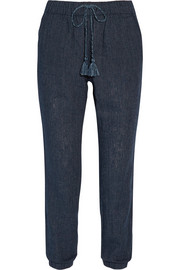 Tobago linen-blend tapered pants