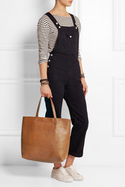 The Transport leather tote