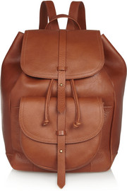 The New Transport leather backpack
