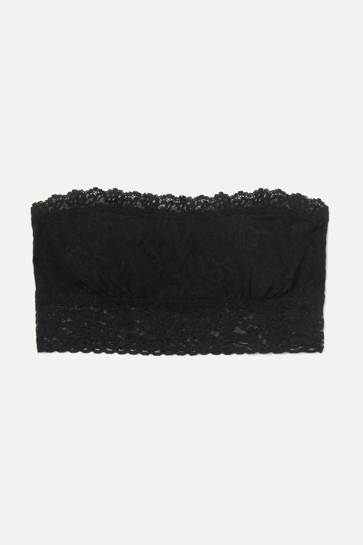 Hanky Panky Signature stretch-lace soft-cup bandeau bra