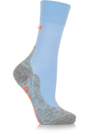 RU 4 knitted running socks
