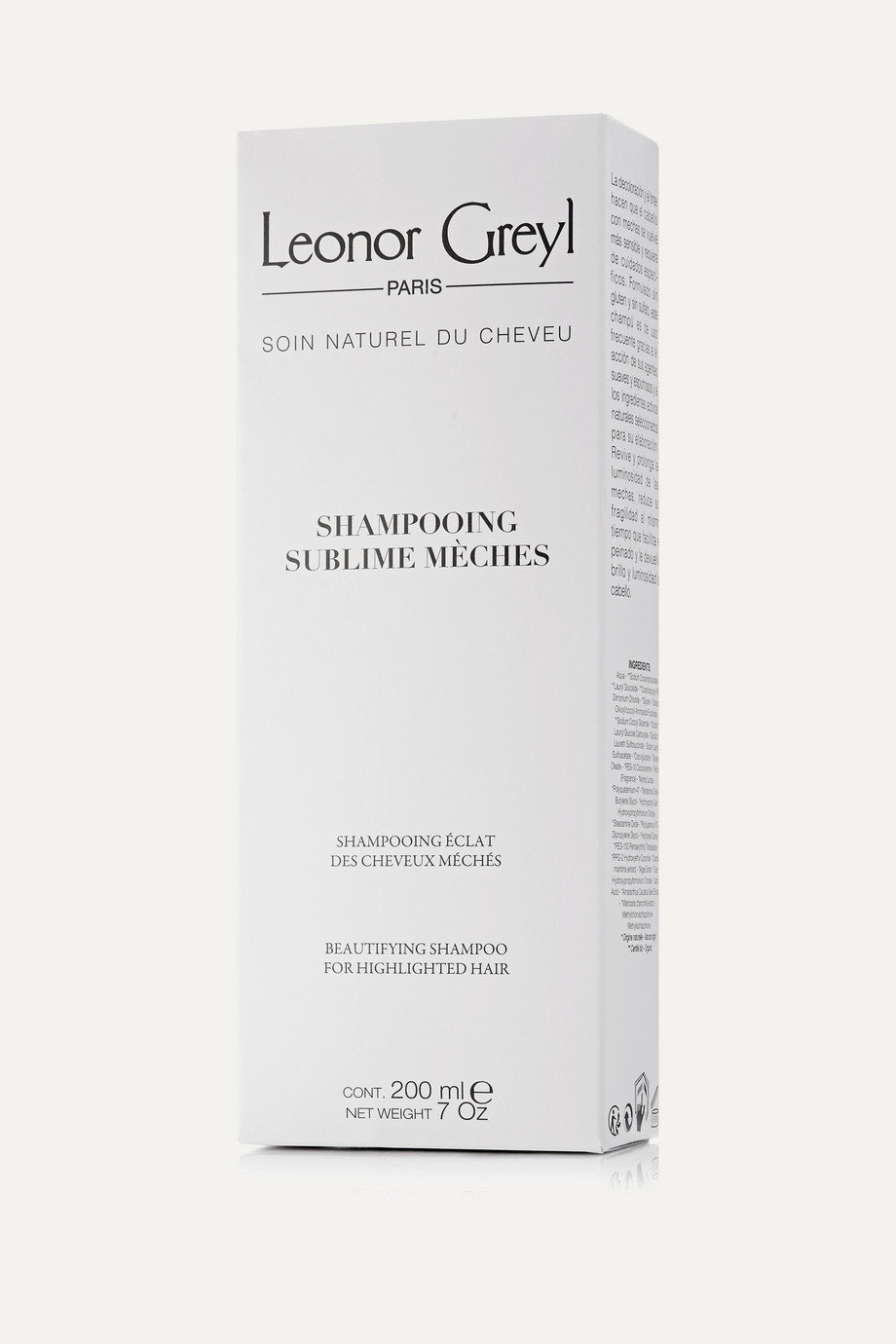 Leonor Greyl Paris Beautifying Shampoo for Highlighted Hair, 200ml