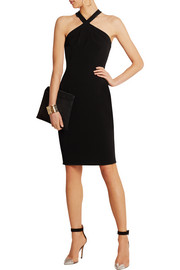 Moschino Cheap and Chic Stretch-crepe dress