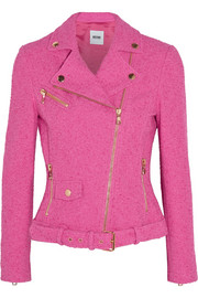 Moschino Cheap and Chic Stretch-bouclé jacket