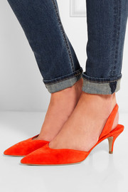 Rhea suede pumps