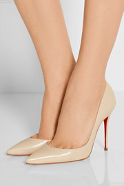 Iriza 100 leather pumps