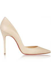 Christian Louboutin Iriza 100 leather pumps