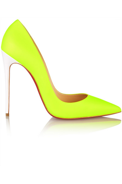chaussures de sport 4a81b b1355 So Kate 120 neon leather pumps