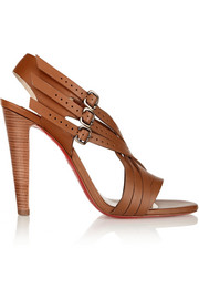 Christian Louboutin Guernica 100 cutout leather sandals