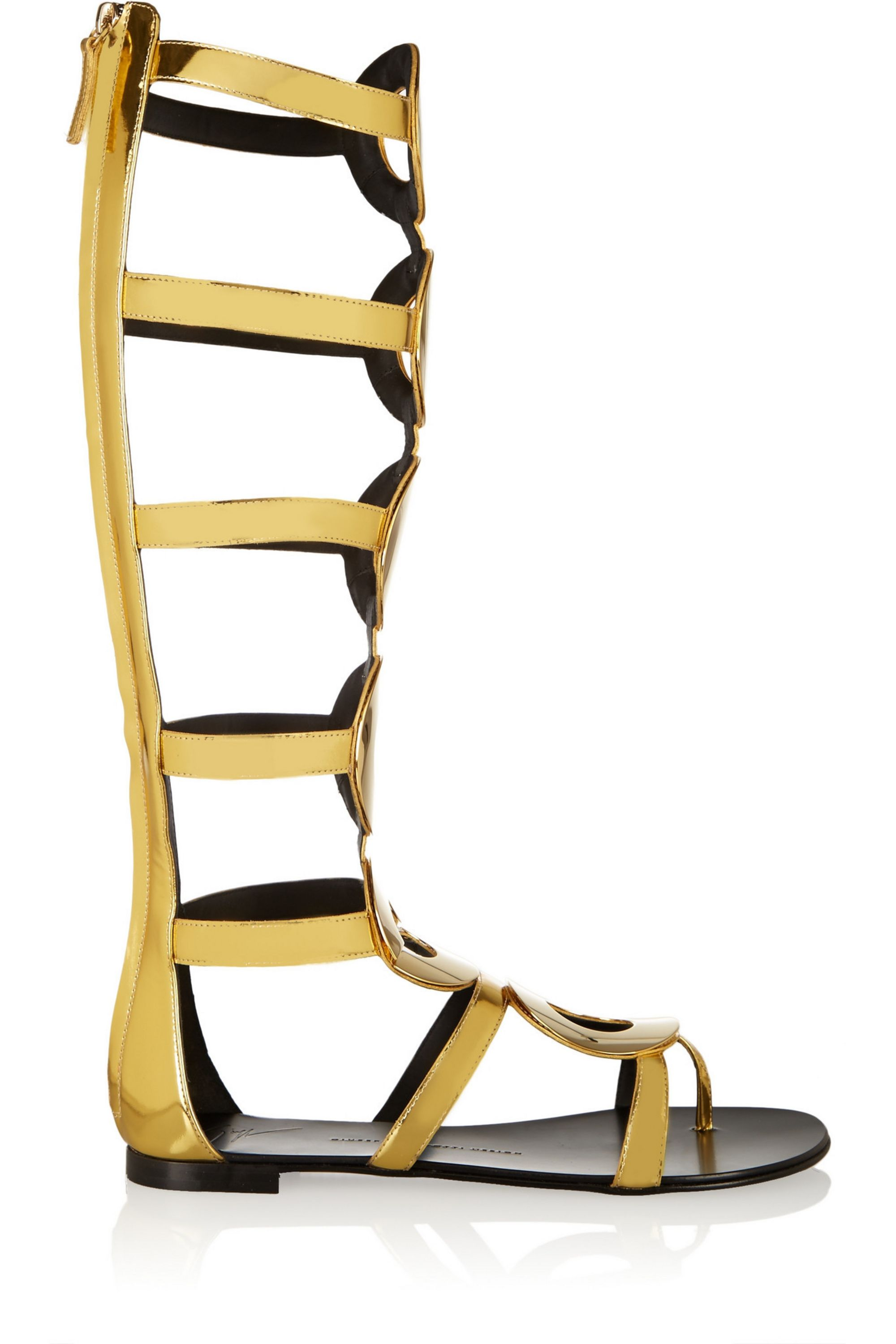 Giuseppe Zanotti Nuvorock embellished leather sandals
