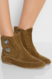 Dalila suede ankle boots