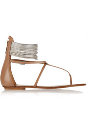Spin Me Around leather sandals