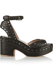 Happoline studded leather sandals