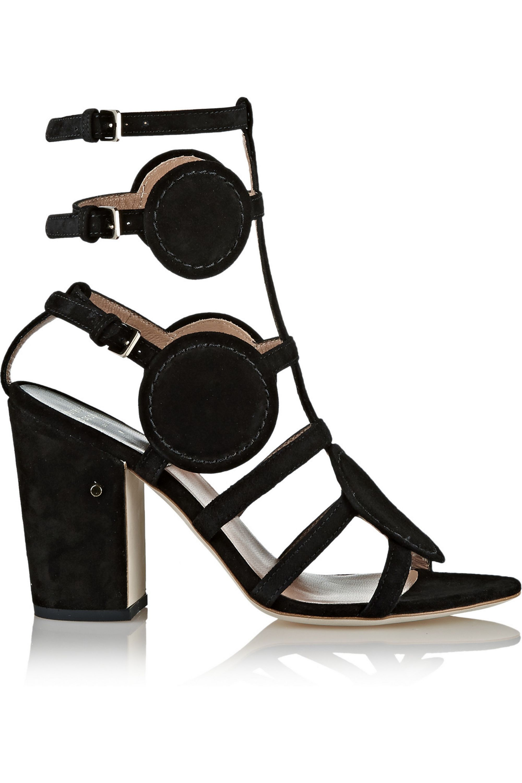 Laurence Dacade Halistair cutout suede sandals