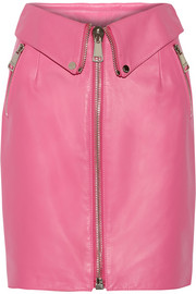 Moschino Leather skirt