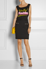 Moschino Intarsia cotton top