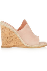 Vala suede wedge sandals