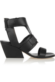 Yetta leather sandals