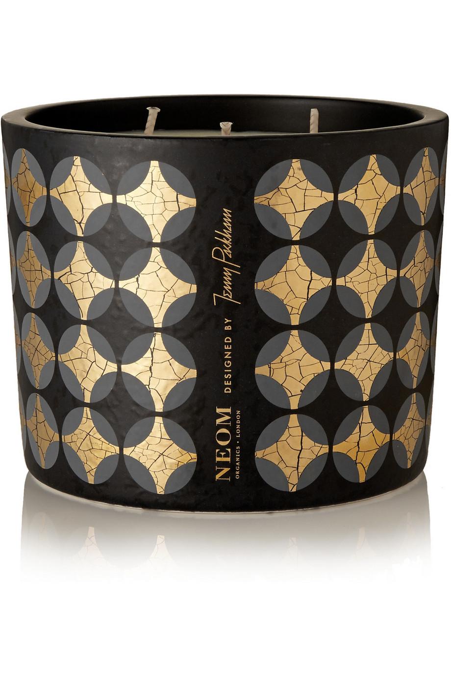 Neom Organics + Jenny Packham Real Luxury Lavender, Jasmine and Brazilian Rosewood Scented Candle, 390g