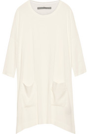 Raquel Allegra Oversized georgette mini dress