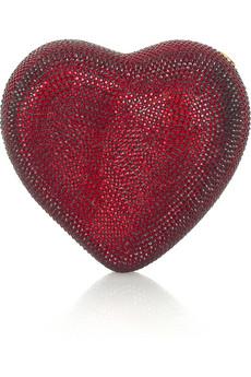 Judith LeiberHeart n Soul heart-shaped clutch