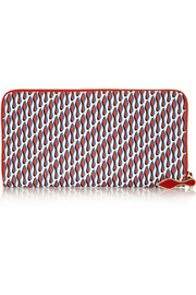 Christian Louboutin Panettone printed coated canvas wallet