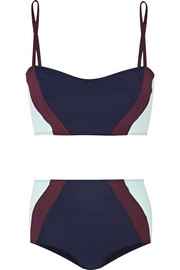 Flagpole Swim Perry color-block bikini