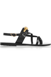 + ilias LALAoUNIS Dilos embellished leather sandals