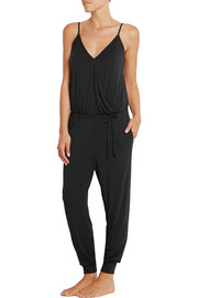 Elevate stretch-modal jersey jumpsuit
