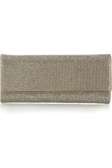 Judith LeiberRitz Fizz crystal-embellished clutch