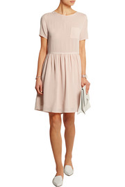 Chinti and Parker Silk-crepe mini dress