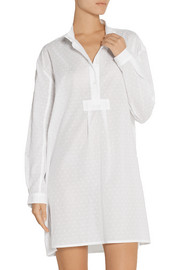 The Sleep Shirt Swiss-dot cotton nightshirt