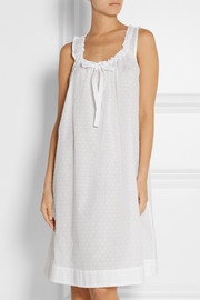 The Sleep Shirt Swiss-dot cotton nightdress