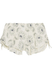 Eberjey Pattern Play printed stretch-jersey pajama shorts