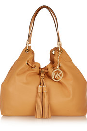 MICHAEL Michael Kors Camden textured-leather shoulder bag