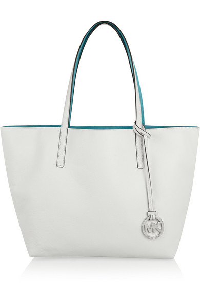 76576aeee7b3 MICHAEL Michael Kors | Izzy large reversible textured-leather tote ...