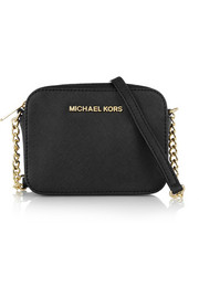 MICHAEL Michael Kors Jet Set Travel mini textured-leather shoulder bag