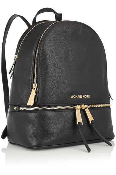 michael michael kors rhea textured leather backpack net a porter com rh net a porter com