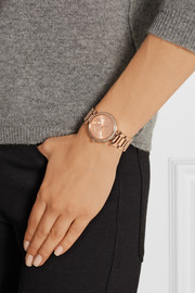 Skylar rose gold-tone watch
