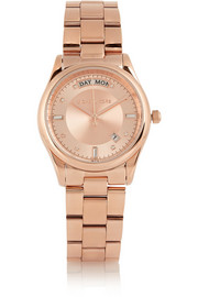Michael Kors Colette rose gold-tone watch