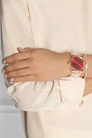 Channing rose gold-tone watch