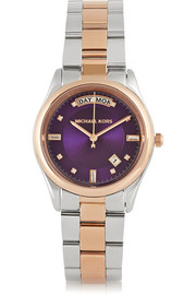 Michael Kors Colette two-tone stainless steel watch