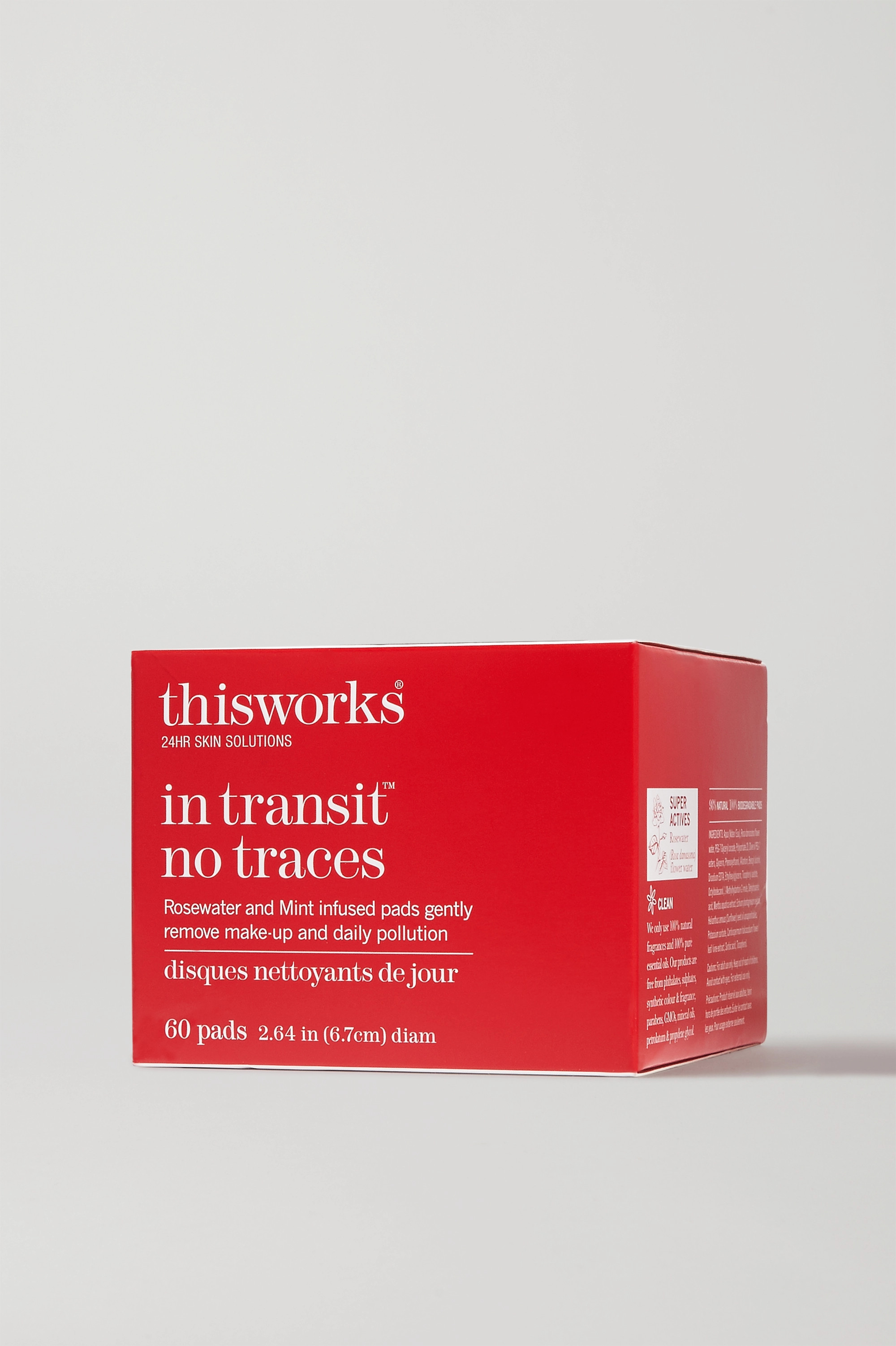 This Works In Transit No Traces - 60 pads