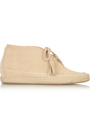 Kendrick suede wedge ankle boots