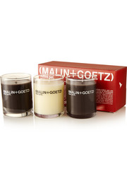 Holiday 2014 Votive set of three candles
