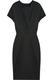 By Malene Birger Ethleen stretch-silk and stretch-satin jersey dress