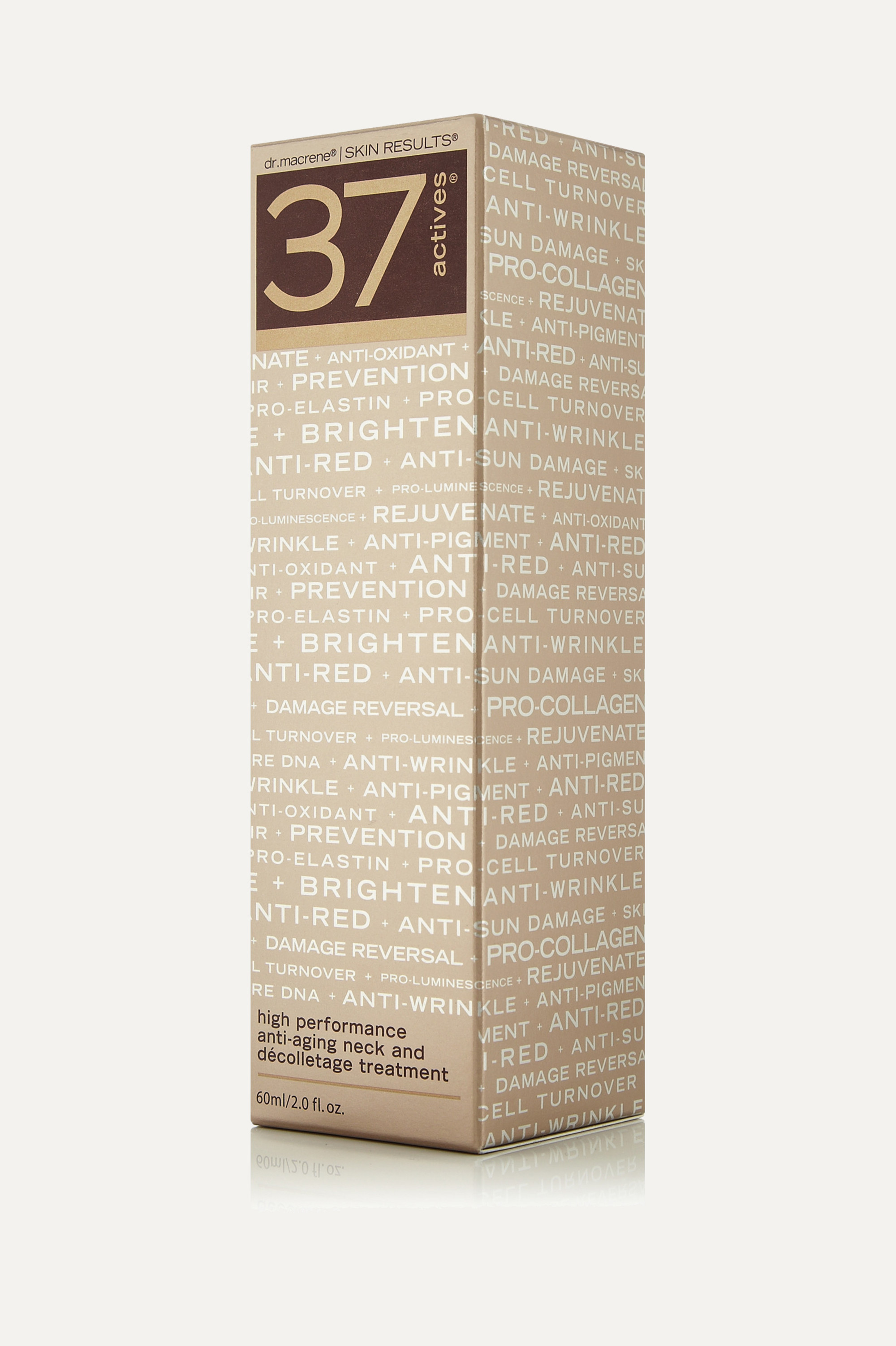 37 Actives Neck And Décolletage High Performance Anti-Aging Treatment, 60ml