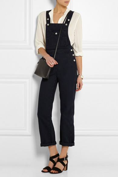 9b9cab76d37 Alexa Chung For AG Jeans. The Tennessee denim overalls